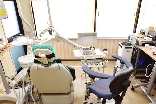 渋谷 表参道 あきやま歯科 設備紹介 診療室